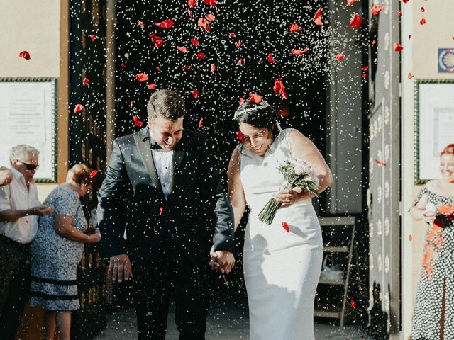 La boda de Javier y Estefania en Santiponce, Sevilla 33