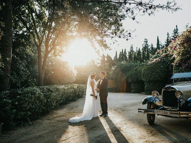 La boda de Javier y Estefania en Santiponce, Sevilla 34