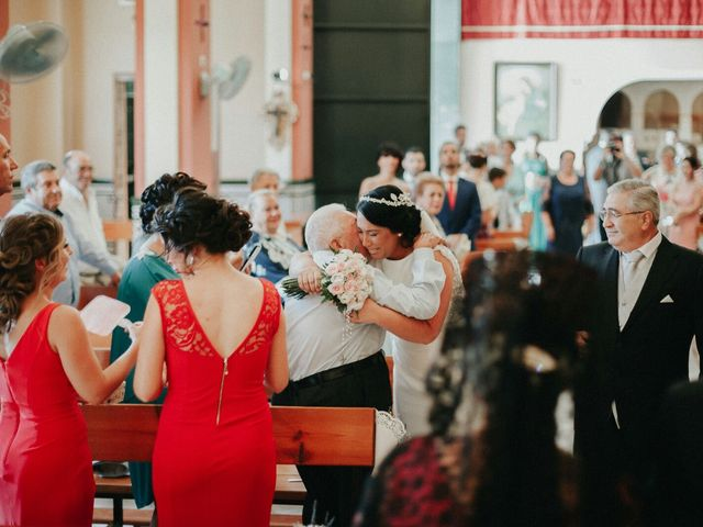 La boda de Javier y Estefania en Santiponce, Sevilla 39