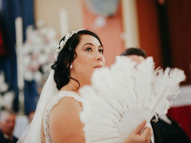 La boda de Javier y Estefania en Santiponce, Sevilla 40
