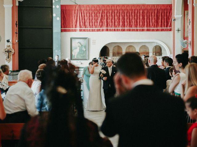 La boda de Javier y Estefania en Santiponce, Sevilla 42