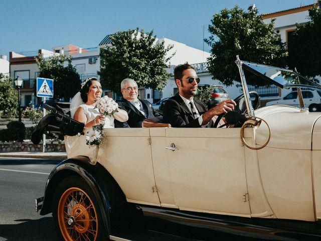 La boda de Javier y Estefania en Santiponce, Sevilla 43