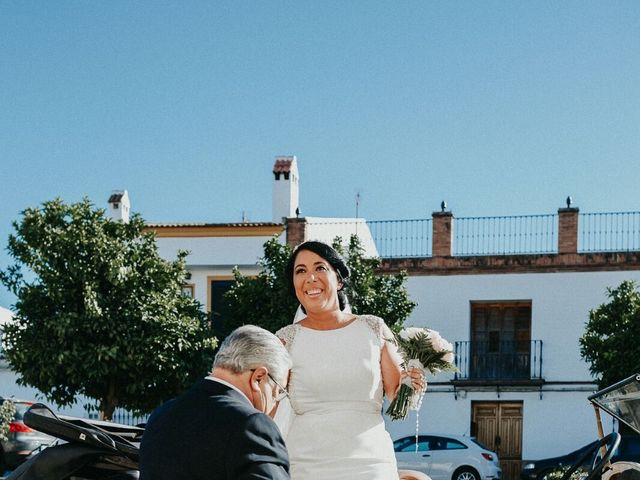 La boda de Javier y Estefania en Santiponce, Sevilla 44