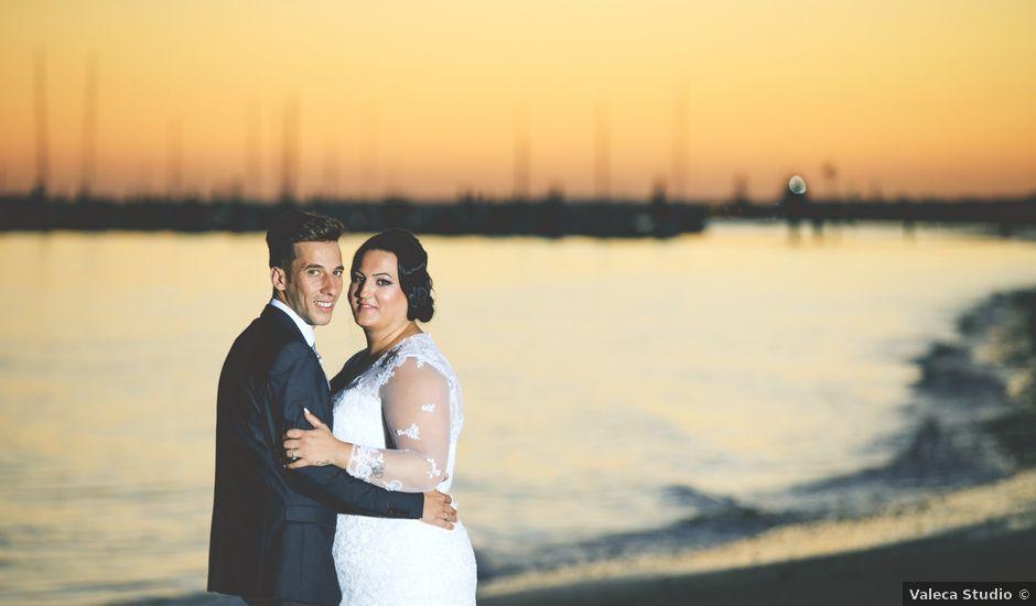 La boda de Cristopher y Cristina en Trigueros, Huelva