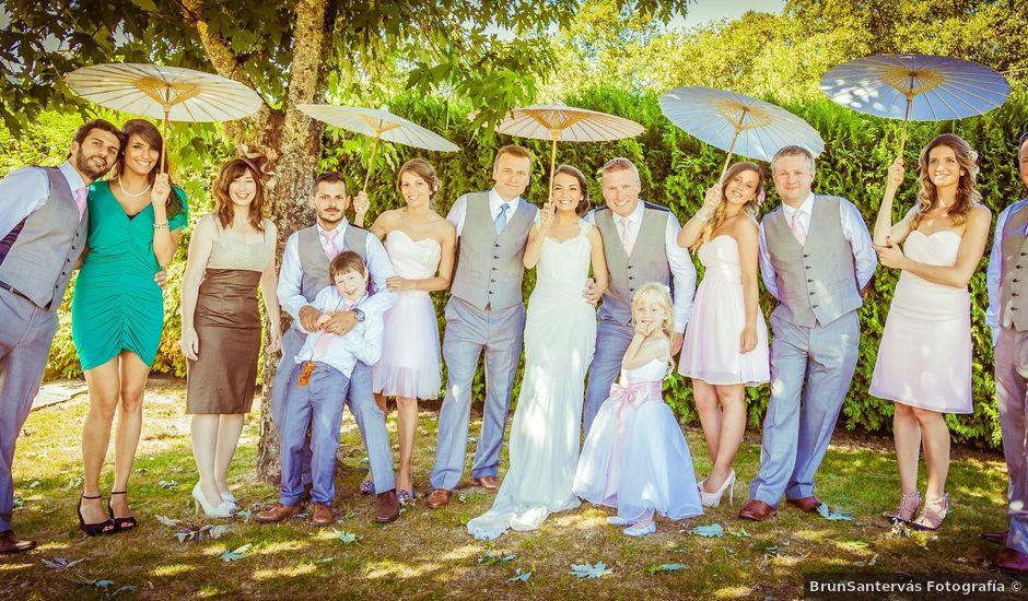 La boda de Barry y Almudena en Mondariz (Balneario), Pontevedra
