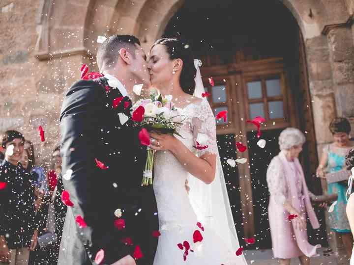 La boda de Adela y Edu
