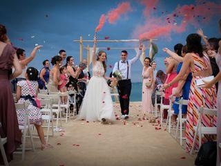 La boda de Ester y Edgar