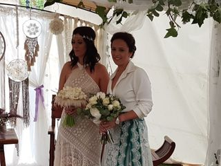 La boda de Carmen y Gloria