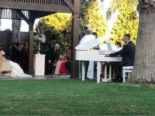 La boda de Flor  y Lucho  1