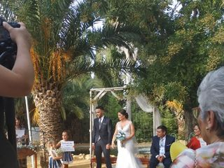 La boda de Nazaret y Juan 1