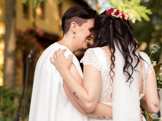 La boda de Sara y Ana en Chinchon, Madrid 2