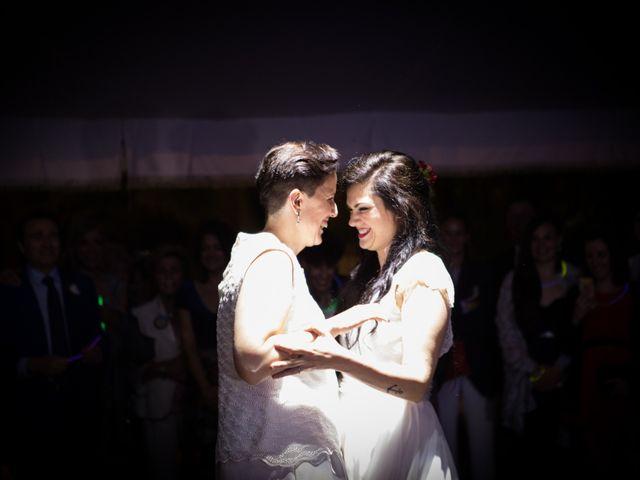 La boda de Sara y Ana en Chinchon, Madrid 91