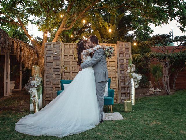 La boda de Flor  y Lucho
