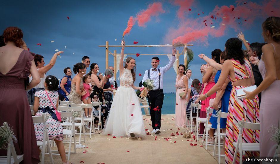 La boda de Edgar y Ester en Arenys De Mar, Barcelona