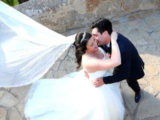 La boda de Melanie y David
