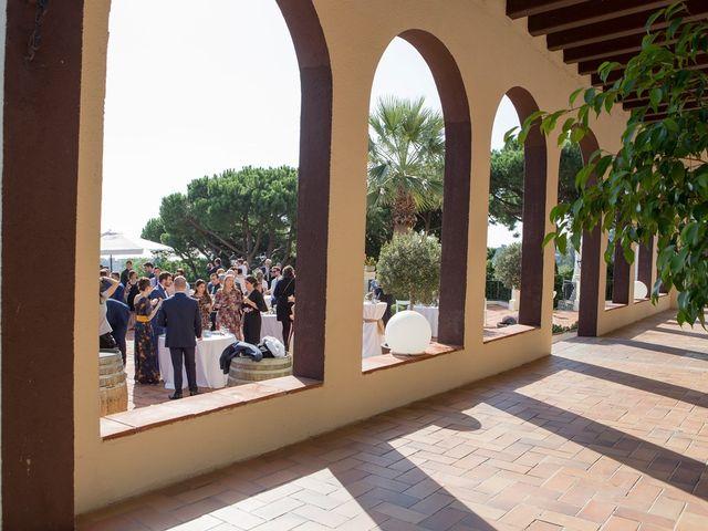 La boda de Xavier y Marta en Sant Vicenç De Montalt, Barcelona 34
