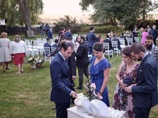 La boda de Javier y Irene en Continos, Salamanca 6