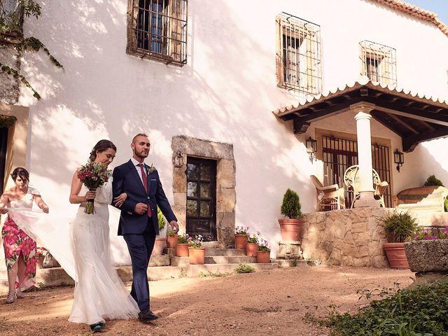 La boda de Javier y Irene en Continos, Salamanca 12