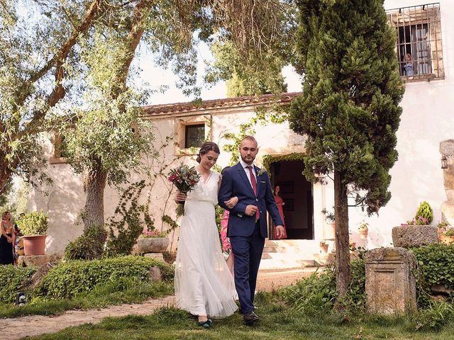 La boda de Javier y Irene en Continos, Salamanca 13