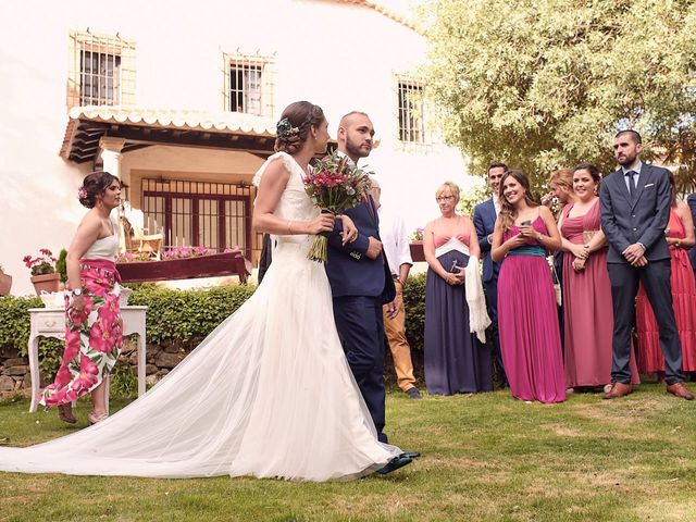 La boda de Javier y Irene en Continos, Salamanca 15