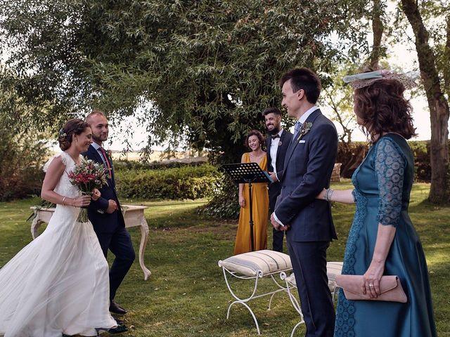 La boda de Javier y Irene en Continos, Salamanca 17