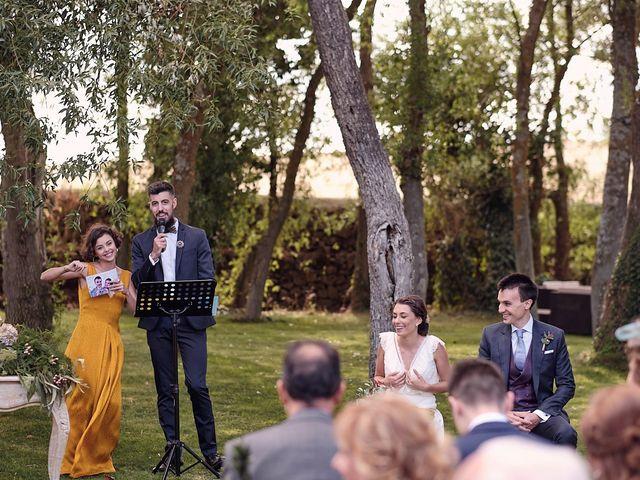La boda de Javier y Irene en Continos, Salamanca 18