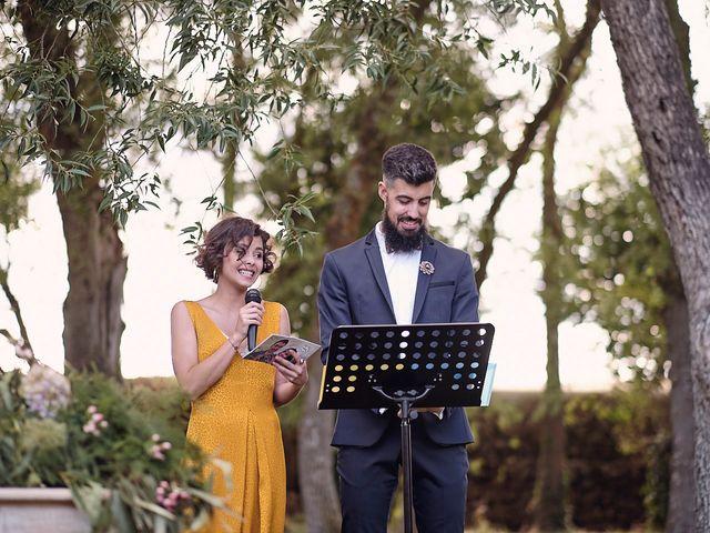 La boda de Javier y Irene en Continos, Salamanca 21