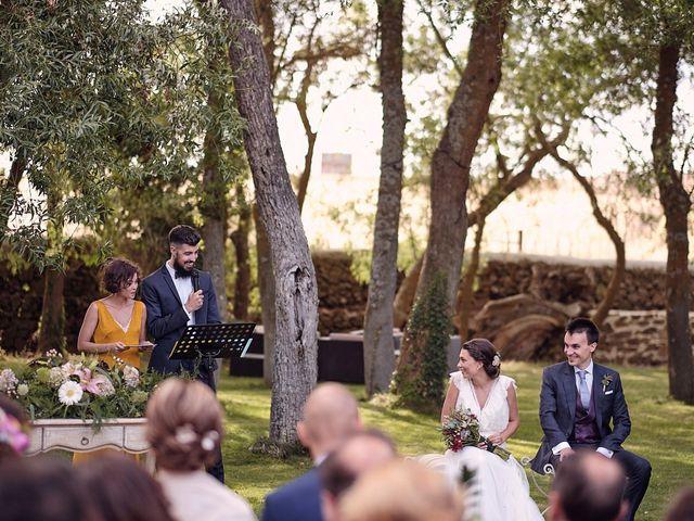 La boda de Javier y Irene en Continos, Salamanca 22