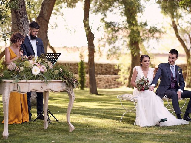 La boda de Javier y Irene en Continos, Salamanca 25