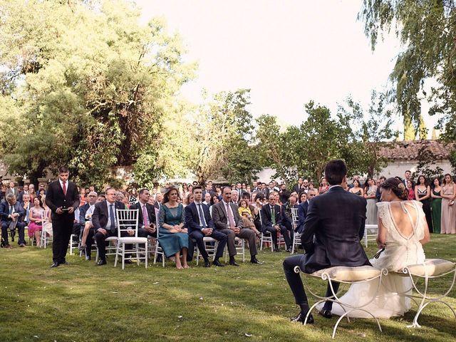 La boda de Javier y Irene en Continos, Salamanca 27
