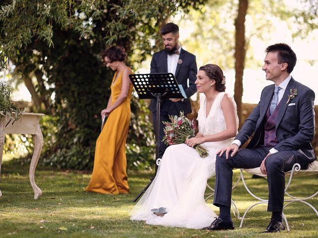 La boda de Javier y Irene en Continos, Salamanca 28