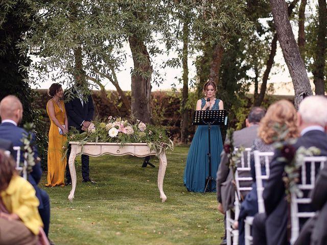 La boda de Javier y Irene en Continos, Salamanca 29