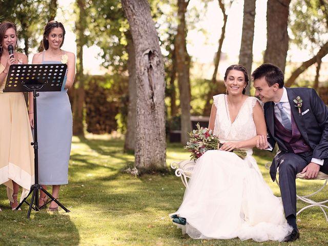 La boda de Javier y Irene en Continos, Salamanca 36