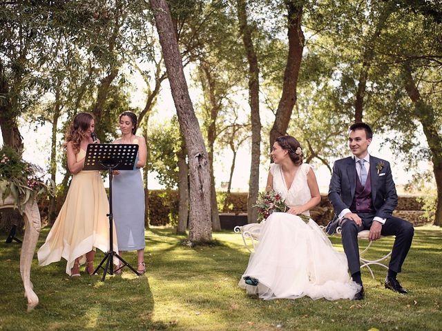 La boda de Javier y Irene en Continos, Salamanca 37