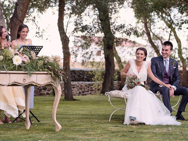 La boda de Javier y Irene en Continos, Salamanca 41