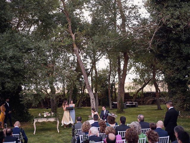 La boda de Javier y Irene en Continos, Salamanca 42