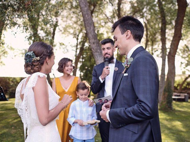 La boda de Javier y Irene en Continos, Salamanca 48