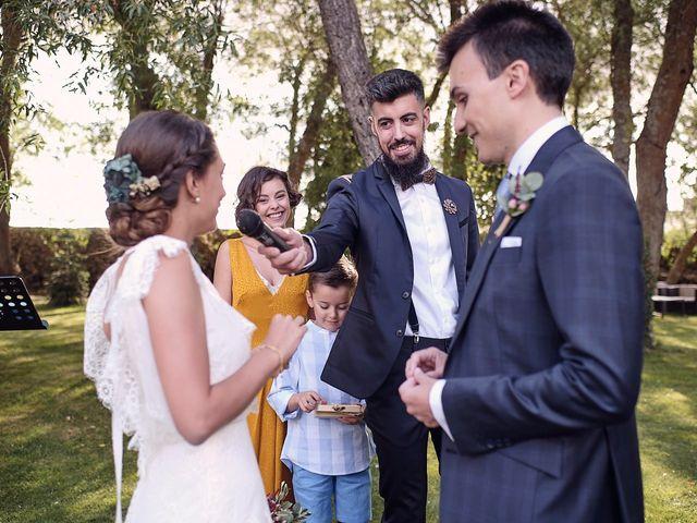 La boda de Javier y Irene en Continos, Salamanca 49