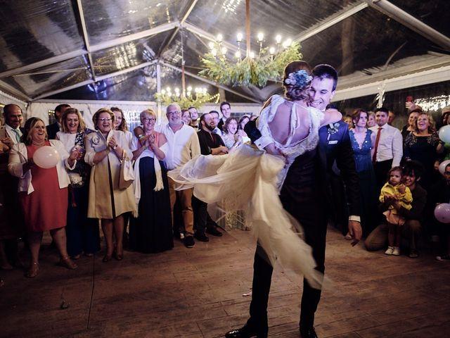 La boda de Javier y Irene en Continos, Salamanca 128
