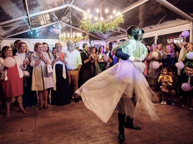 La boda de Javier y Irene en Continos, Salamanca 130