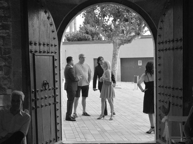 La boda de Oscar y Estefania en Torroella De Montgri, Girona 10