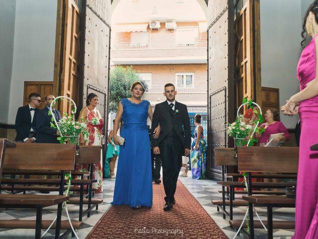 La boda de Andrés y Macarena en Almería, Almería 11
