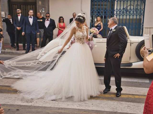 La boda de Andrés y Macarena en Almería, Almería 12