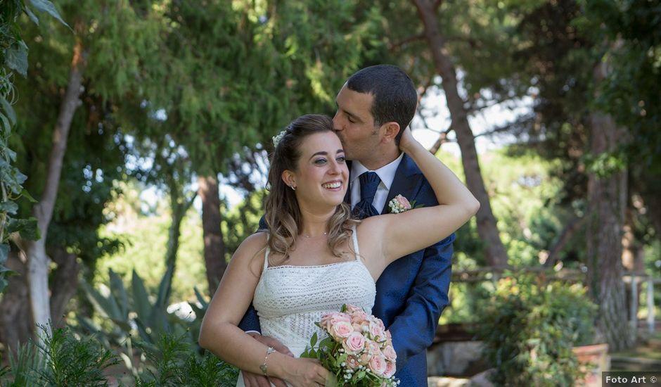 La boda de Xavier y Marta en Sant Vicenç De Montalt, Barcelona