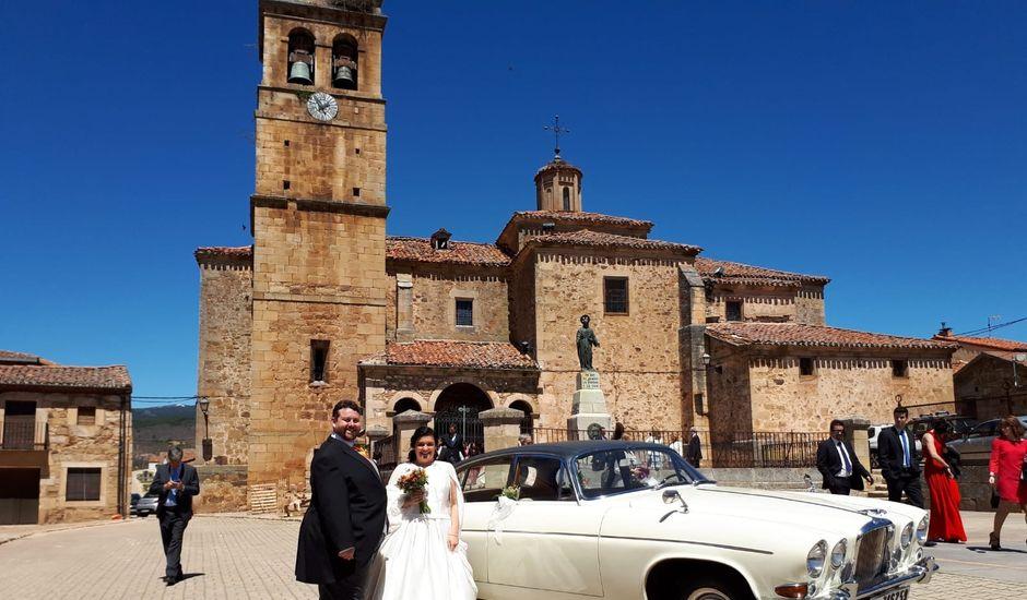 La boda de Vanessa y Fernando en El Royo, Soria