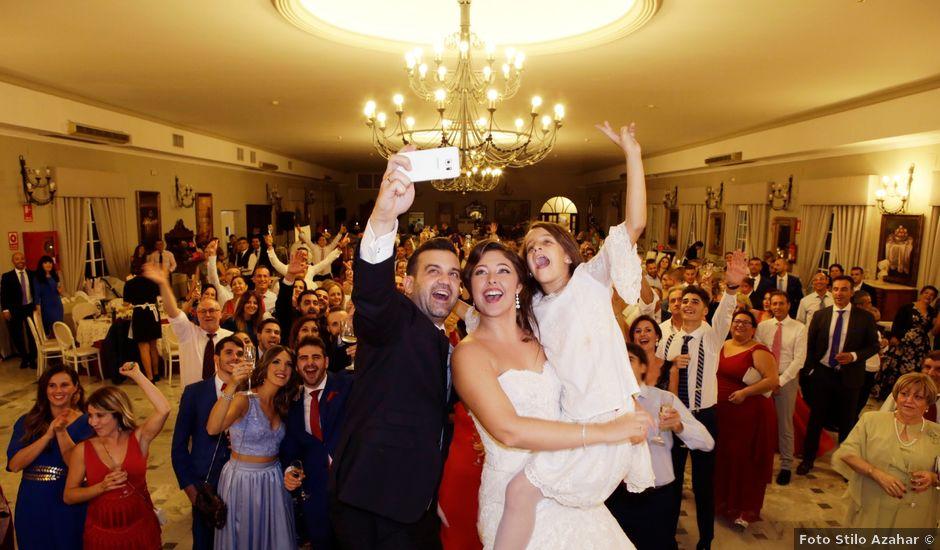 La boda de Rubén y Aroa en Espartinas, Sevilla