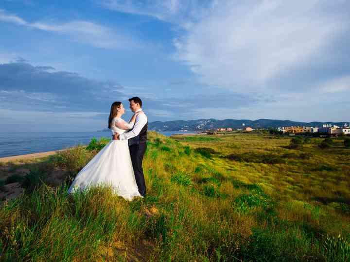 La boda de Estera y Daniel