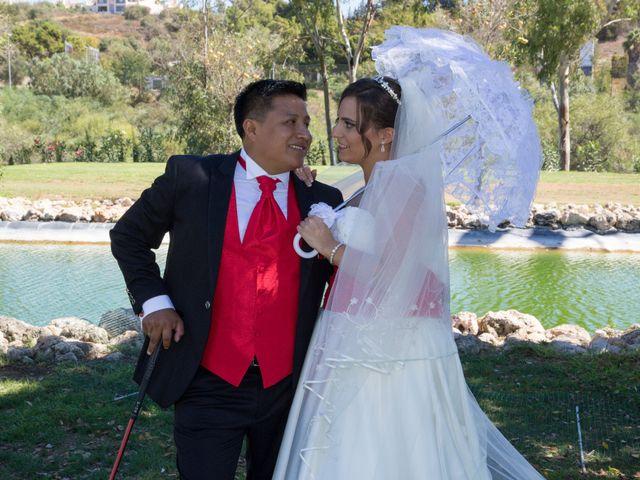 La boda de Alejandro y Rut en Ojen, Málaga 17