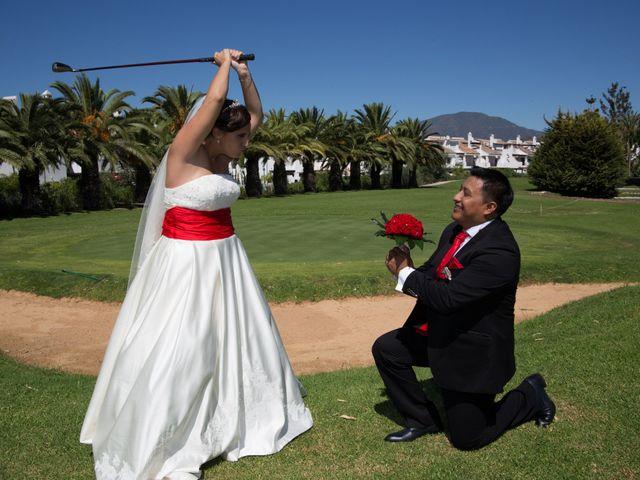 La boda de Alejandro y Rut en Ojen, Málaga 22