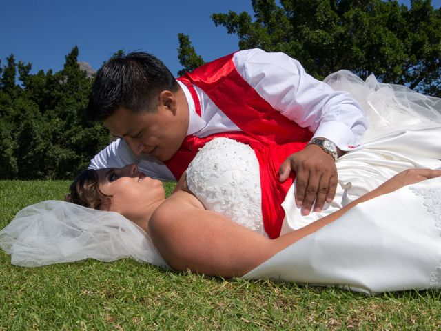 La boda de Alejandro y Rut en Ojen, Málaga 30